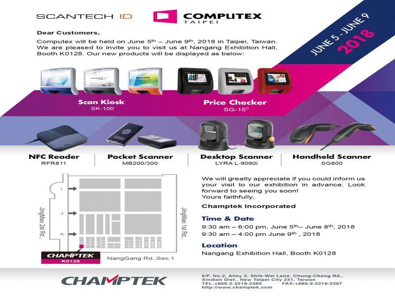 Computex Taipei 2018-June 05-09